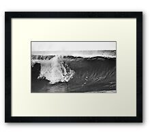 Andy Irons At Rip Curl Pro Pipe Masters 06-2 Framed Print