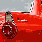 Red T-Bird by dlhedberg