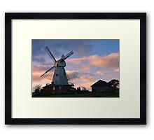 Willesborough Mill Framed Print