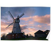 Willesborough Mill Poster