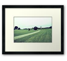 Vintage Farm Framed Print