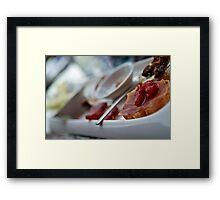Wine Pairing Framed Print