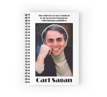 Carl Sagan Collection Spiral Notebook