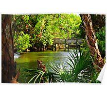 Florida Canal Poster