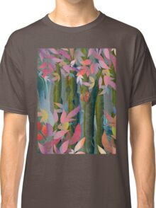 Autumn by a Waterfall Classic T-Shirt