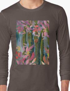 Autumn by a Waterfall Long Sleeve T-Shirt