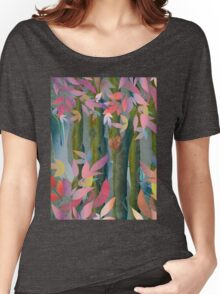 Autumn by a Waterfall Women's Relaxed Fit T-Shirt