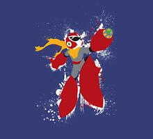 Protoman Splattery Shirt or Hoodie - Any Color Unisex T-Shirt