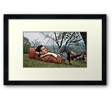 Watching the world go by Highland Park Rochester 19570512 0030 Framed Print