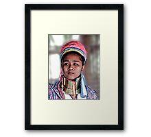 Karen Teen Framed Print