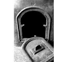 Black Door Photographic Print