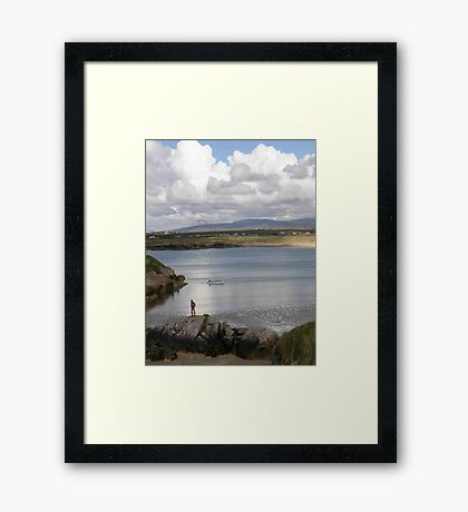 Keadue Bay, Donegal, Ireland  Framed Print