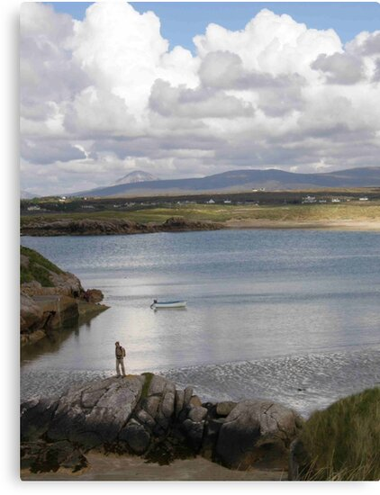 Keadue Bay, Donegal, Ireland  by mikequigley