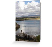 Keadue Bay, Donegal, Ireland  Greeting Card