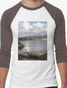 Keadue Bay, Donegal, Ireland  Men's Baseball ¾ T-Shirt