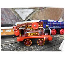 Harvey - Thomas The Tank Engine Poster