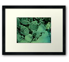 I know  you're tough but I can feel the soft side of your heart! Framed Print