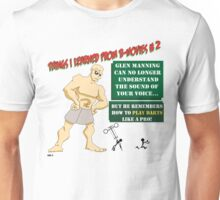 Things I Learned from B-Movies #2 Unisex T-Shirt