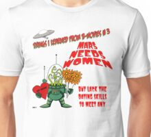 Things I Learned from B-Movies #3 Unisex T-Shirt