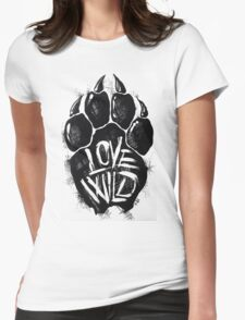 Love Wild Womens Fitted T-Shirt