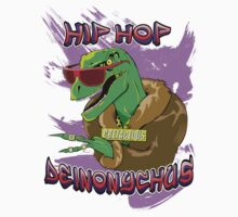Hip Hop Deinonychus by Jamie Parks