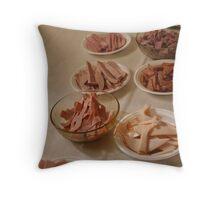 Ham, Ham, Ham  Throw Pillow