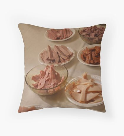 Ham, Ham, Ham  Throw Pillow