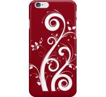 Crimson Scrolls iPhone Case/Skin