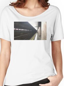 UBahn, Train Station Women's Relaxed Fit T-Shirt