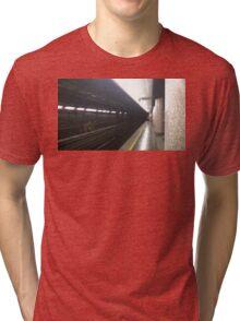 UBahn, Train Station Tri-blend T-Shirt