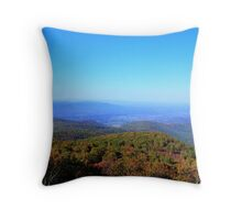 View From Skyline Drive Throw Pillow