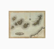 Vintage Map of The Canary Islands (1823) T-Shirt