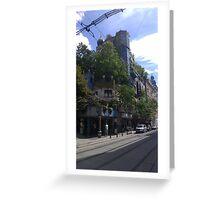 Hundertwasserhaus Vienna, Austria Greeting Card