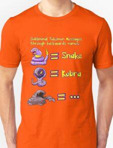 Pokemon Subliminal Messages T-Shirt
