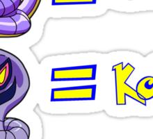 Pokemon Subliminal Messages Sticker