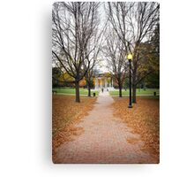 Boston Common - Boston - United States Canvas Print