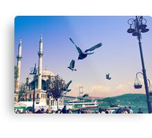Frozen in Time - Istanbul, Turkey Metal Print