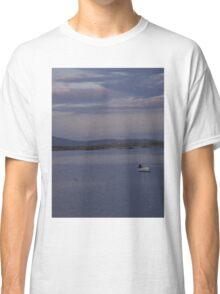White Boat  Sunset- Burtonport - Donegal -  Ireland Classic T-Shirt