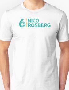 F1 Driver: Nico Rosberg #6 T-Shirt