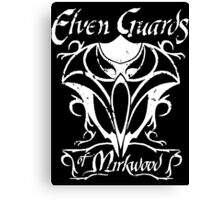 The Lord of the Rings Elven Guards of Mirkwood Canvas Print
