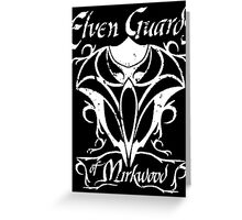 The Lord of the Rings Elven Guards of Mirkwood Greeting Card