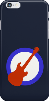 Guitar Mod iPhone Case by Paul Simms