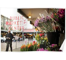 Pike Place Market - Seattle - United States Poster