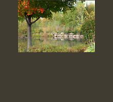 The Pond At George George Park In The Fall Unisex T-Shirt