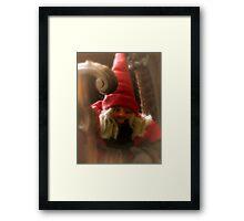 Christmas Visitor Framed Print