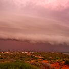 """Storm over Shark Bay"" Western Australia by wildimagenation"
