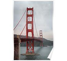 Golden Gate Bridge - San Francisco - United States Poster
