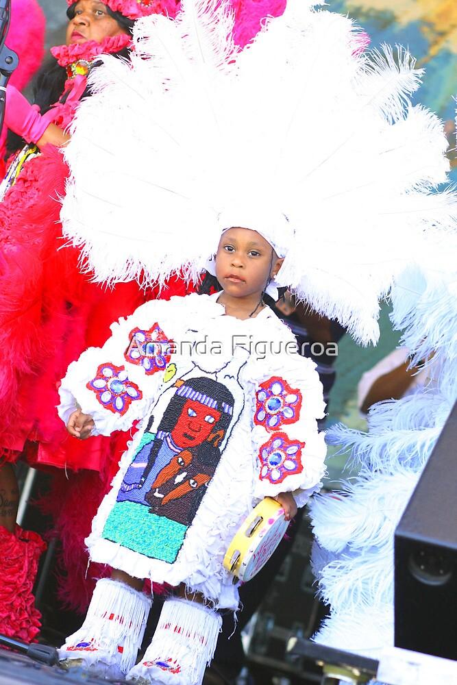 little mardi gras indian by Amanda Figueroa