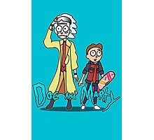 Doc and Marty Photographic Print