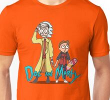 Doc and Marty Unisex T-Shirt